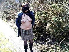 scotland country lane milf wife