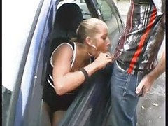 Blowjob And Fuck In Public Place