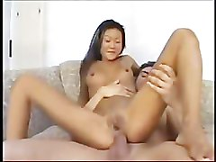 Lucy Lee (Asian) - First Anal Scene