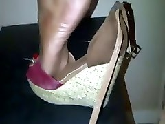 Sexy Indian Gives Footjob Pt. 2