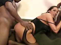 kaylynn rough black cock gangbang