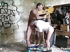 two french gay dudes in sexy hard suck outdoor fun