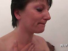 casting amateur french milf hard analized