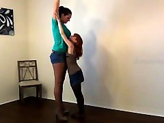 amazon vanessa compares height with lizzy lamb hd
