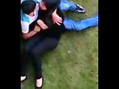 arab students outdoor boob sucking-egypte24.com