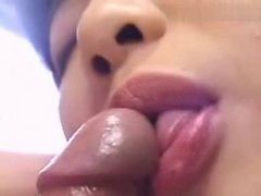 Asian Girl Marie Blowjob And Cum In Mouth
