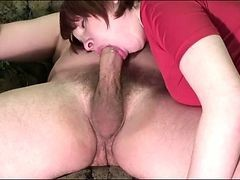Teen Give A Excellent Blowjob