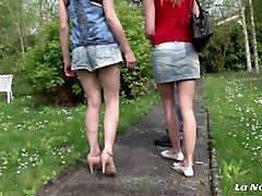 la novice - amateur french teens in hot lesbian sex