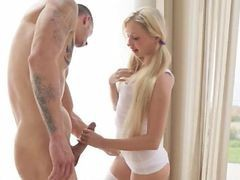 Best Blowjob From Blonde Glamour