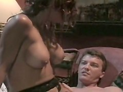 busty redhead white vintage milf banged hard and fed with cum